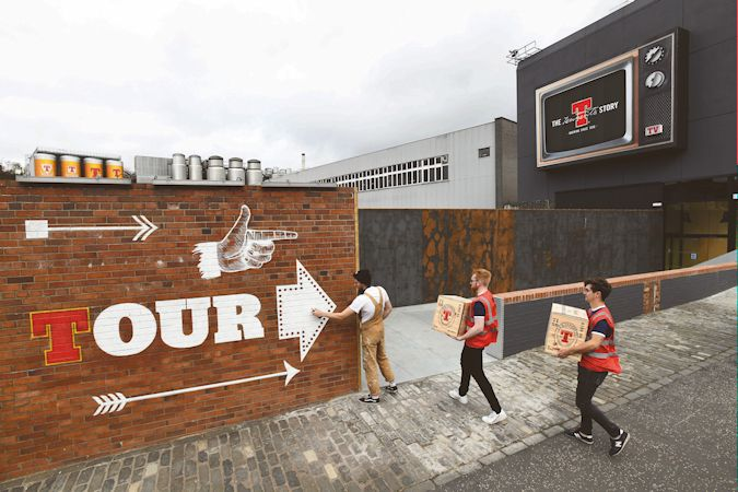 Tennent's Lager To Open The UK's Biggest Beer Attraction