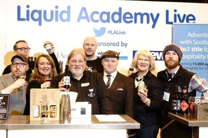 SLTA To Support Liquid Academy At ScotHot