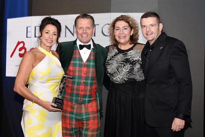Leading Scottish Hotelier And Tourism Ambassador Honoured At SLTN Awards